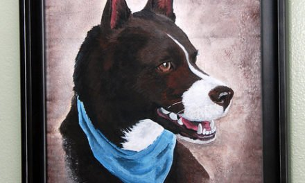 Rudy – A Pet Portrait