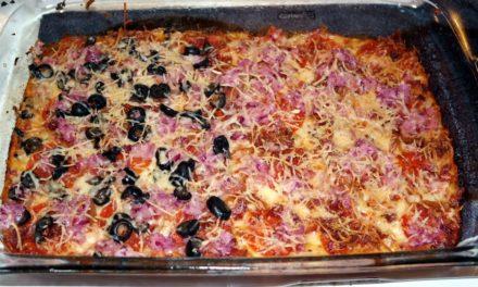 Low-Carb Deep Dish Pizza