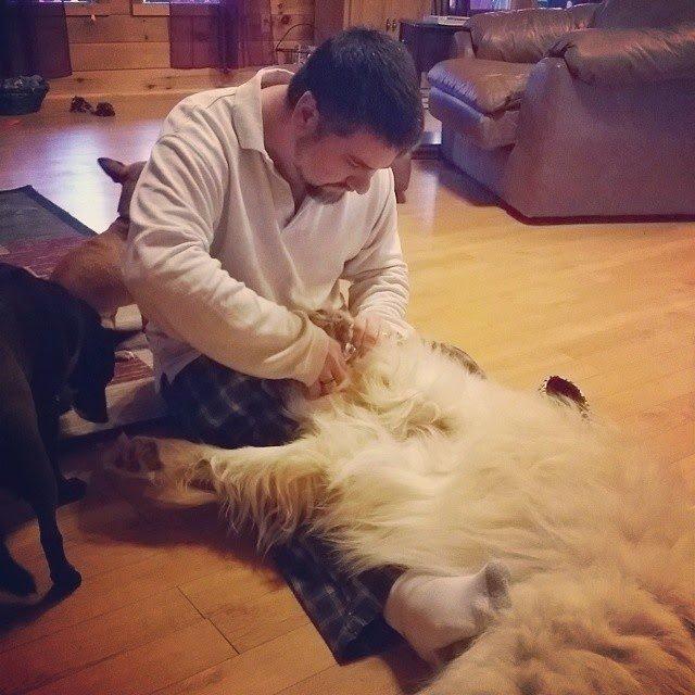Puppy Pedicure