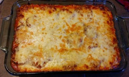 Eggplant Parmesan – Baked