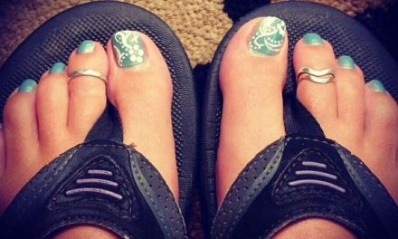 Favorite Pedi Ever!