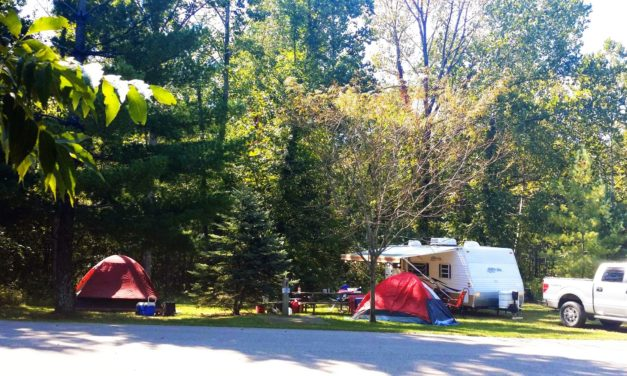 Tipsaw Lake Camping Trip