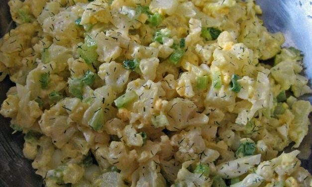 Mock Potato Salad – Low Carb