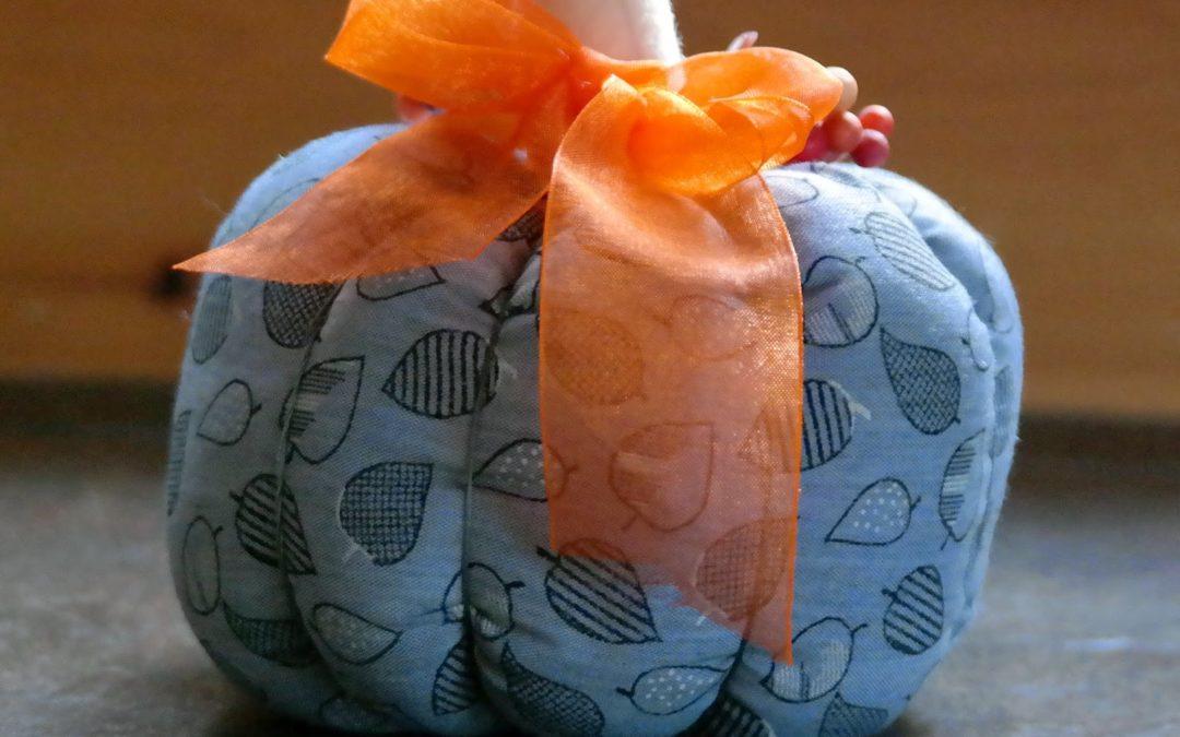 Decorative Fabric Pumpkin