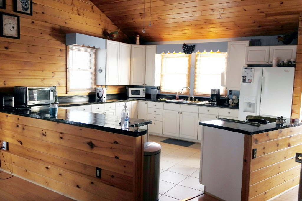 Cost and Materials for DIY Faux Butcherblock Kitchen Countertops