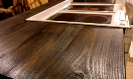 Faux Butcherblock Countertops – Part 2