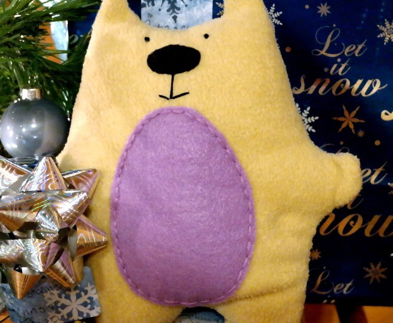 Sewing a Charity Bear