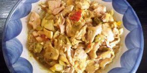 Crock Pot Chicken Curry & Veggies