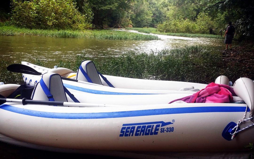 Kayaking Floyds Fork at The Parklands