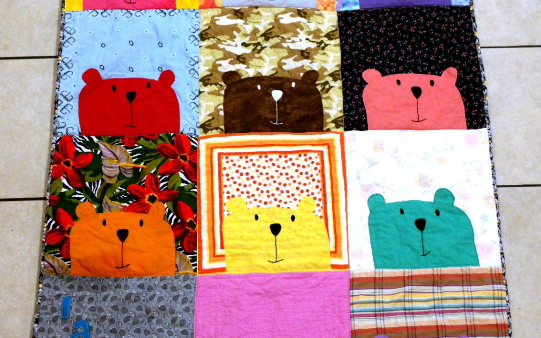 Peek-A-Boo Bear Quilt #2