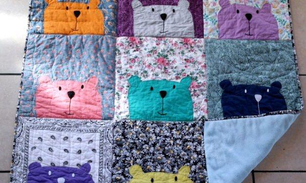 Peek-A-Boo Bear Quilt