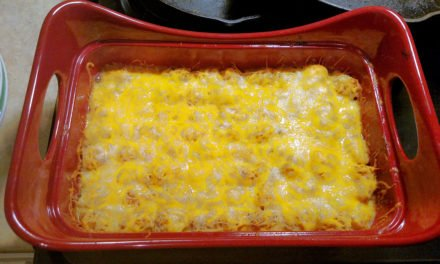 Buffalo Ranch Chicken Casserole