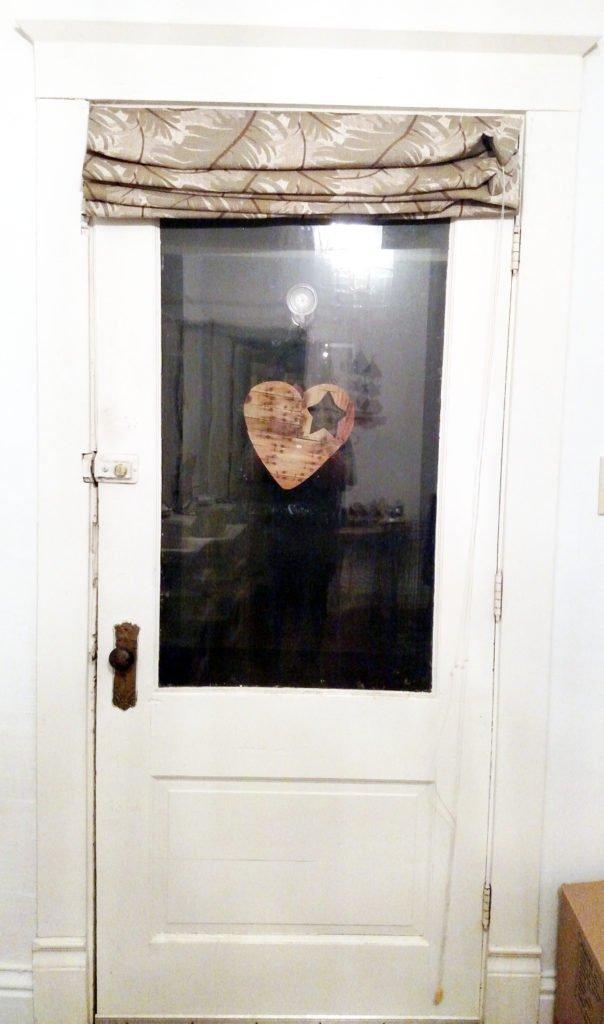 Front Door Roman Shades