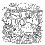 10 Free Autumn Adult Coloring Pages