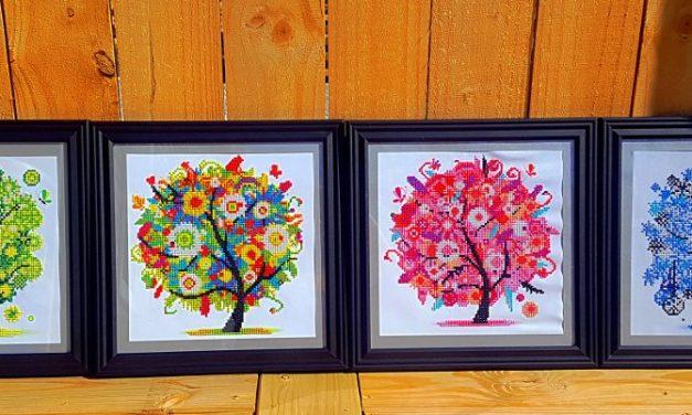 Diamond Painting – Four Seasons Trees
