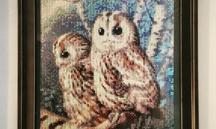 White Owl Diamond Painting