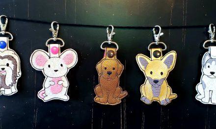 Custom Dog Breed Keychains