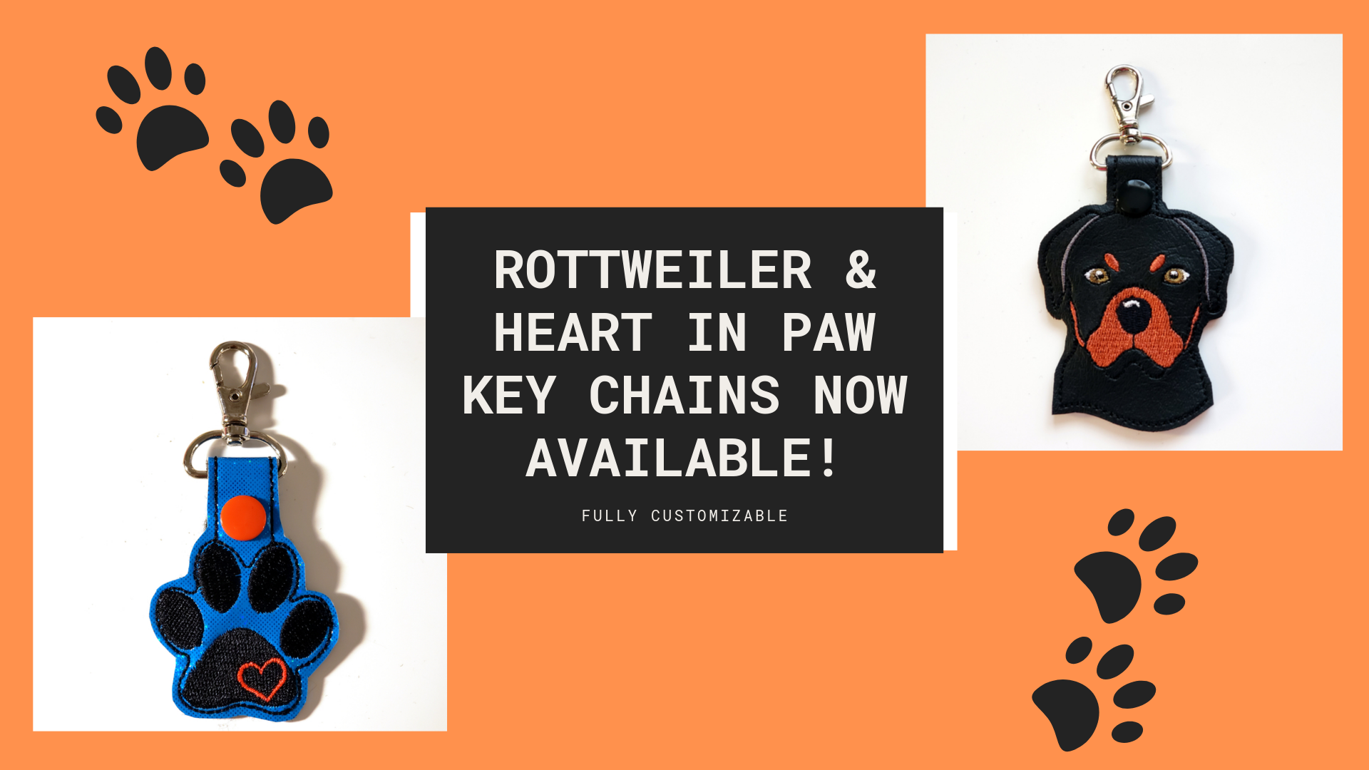 New Dog Breed Keychains