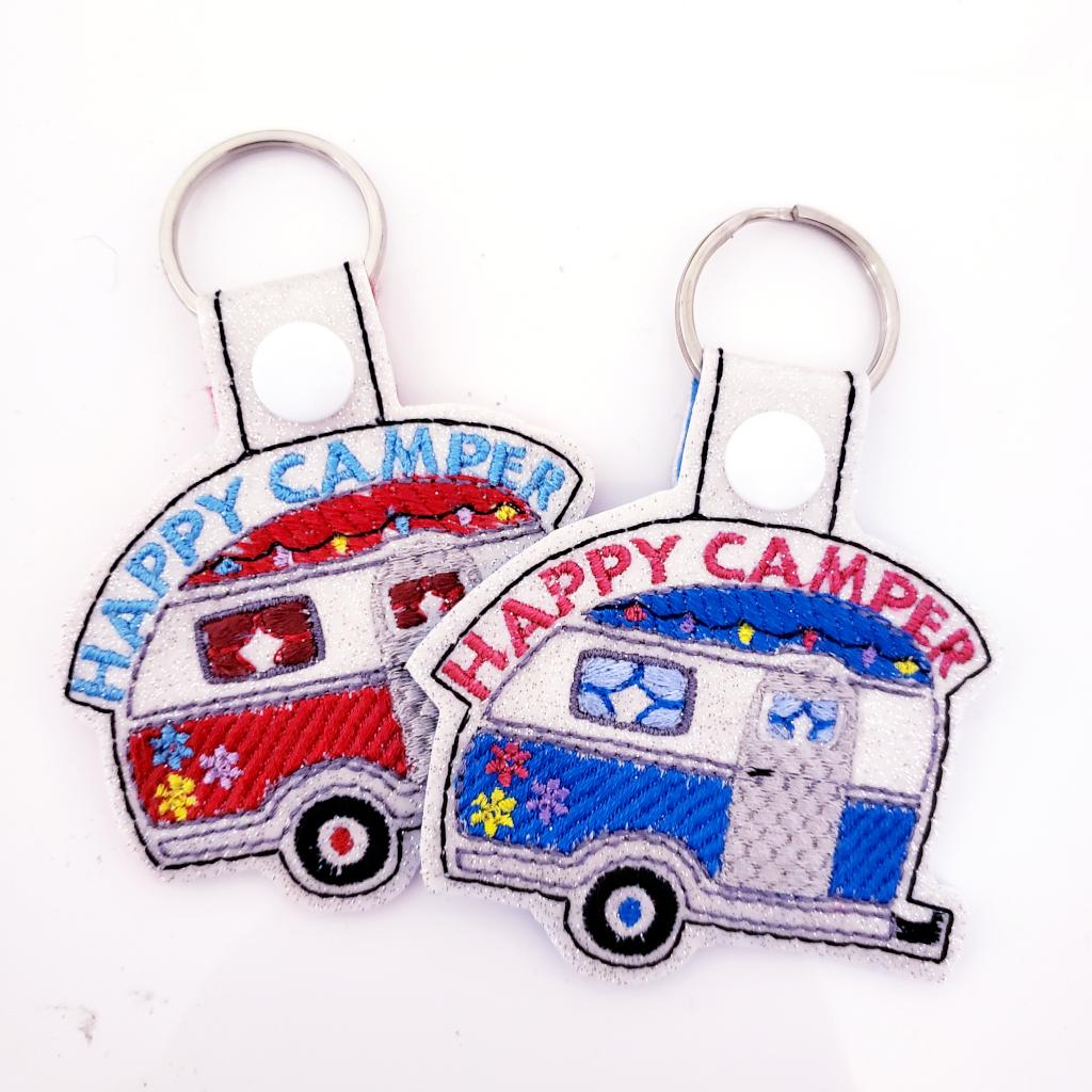 Camper RV Key Chain